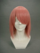Ruler Short Naruto-haruno Sakura Mixed Pink Anime Cosplay Wig