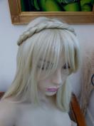 Plaited Braid Chunky Hair Headband Bleach Blonde Hair Piece Extension