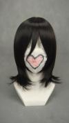 Ruler Short Bleach-kuchiki Rukia Black Anime Cosplay Wig