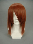 Ruler Short D.grey-man-lavi Red Brown Anime Cosplay Wig