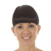 Clip - In Blunt Fringe   Hair-Like Bangs   Available in 5 Colours- Expresso