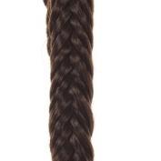 Fishtail Hair Band | Elasticated Hair Braid | Available in 5 Colours | Dark Chocolate