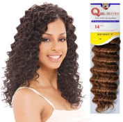 . Milky Way Human Hair Master Mix Weave Que Deep Wave 25cm  - 1B