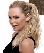 Hairdo 46cm Wrap Around Pony Beach Curl Pony Hair Extension R14/25 Honey Ginger/Dark Golden Blonde