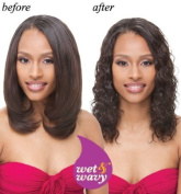 Janet Collection Indian Remi Human Hair Weave Ripple Deep 25cm Colour 2 Dark Brown