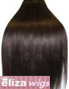 50cm DARK BROWN (Col 2). Full Head Clip in Human Hair Extensions. High quality Remy Hair!. 100g Weight