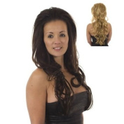 Bodywave Volume TiHaira Hairpiece | Half Wig | Hair Extensions | Multi-tonal Blonde Mix