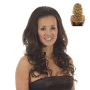 Golden Blonde Long Curly Half Wig Hairpiece | Add Extra Volume and Length | Hair Extensions