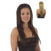 Straight Volume Tihaira Hairpiece | Add Extra Length | Half Wig | Hair Extensions | Blonde Mix Fawcett