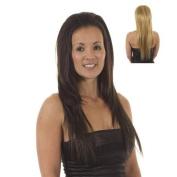 Straight Volume Tihaira Hairpiece | Add Extra Length | Half Wig | Hair Extensions | Blonde Mix Fawcett