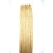 10 Pieces 50cm Remy Tape Hair Extensions #16 Ash Blonde