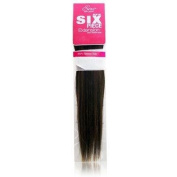 Evita 100% Human Hair Six Piece Clip In Extension 46cm Colour F1B/30