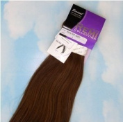 INDIAN REMY REMI HUMAN HAIR EXTENSION WEAVE BY SENSUAL 46cm colour #6 Light Brown
