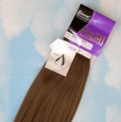 INDIAN REMY REMI HUMAN HAIR EXTENSION WEAVE BY SENSUAL 46cm colour #8 ASH BROWN