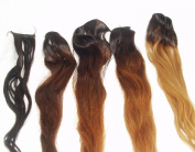 100% Virgin Indian Remy Weft Hair Extension- Natural Brown- Body Wave - 18 Inches- 100 Grammes