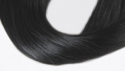 41cm Remy(remi) Human Hair Clip in Extensions Off Black (Colour #1b) 10 Pieces(pcs) Full Head Volume Set [set weight:4.3oz/115grams]