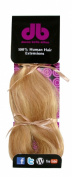 Donna Bella Full Head 100% Human Hair Clip In Hair Extensions, 41cm , Colour No. 27/613, 120ml