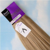 INDIAN REMY REMI HUMAN HAIR EXTENSION WEAVE BY SENSUAL 46cm colour 18/613