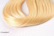 50cm Remy (Remi) Human Hair Clip in Extensions Light / Bleach Blonde (Colour #613) 9 Pieces(pcs) Full Head Set 130ml