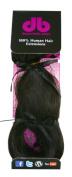 Donna Bella Full Head 100% Human Hair Clip In Hair Extensions, 41cm , Colour No. 1B, 120ml
