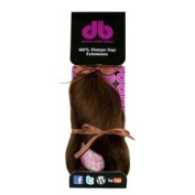 Donna Bella Full Head 100% Human Hair Clip In Hair Extensions, 50cm , Colour No. 6, 120ml