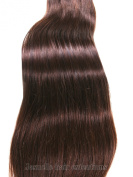 50cm (Inches) Straight Grade AAA 100% Virgin Peruvian Remy Human Weft Soft & Silky Hair Extension Hair - Colour #2