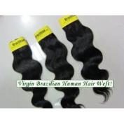 Body Wave 46cm Brazilian Virgin Remy Human Hair Weave Weft 3 Bundles 300 Grammes Unprocessed Natural Colour Extensions 100% Brazilian Human Hair Extensions