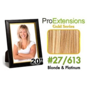 ProExtensions #18/22 Dark Blonde w/Light Blonde Highlights Pro Cute - Gold Series