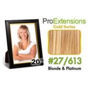 ProExtensions #18/22 Dark Blonde w/Light Blonde Highlights Pro Cute - Gold Series