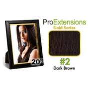 ProExtensions #2 Dark Brown Pro Cute - Gold Series