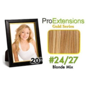 ProExtensions #27/613 Blonde w/Platinum Highlights Pro Cute - Gold Series