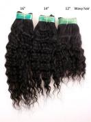 30cm ,36cm & 41cm Inches| 300 Grammes| 100% Virgin Unprocessed Peruvian Remy Human Hair Extension| Deep Wave| Colour