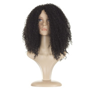 Rihanna Black Afro Wig | Long Full Afro Curl | Stunning Black