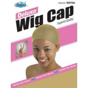 2 Pk Quality WIG CAP Nylon MUST HAVE One Size BEIGE/NUDE
