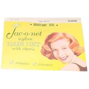 Jac-o-net Nylon Hair Net Bouffant With Elastic * 255 Blonde