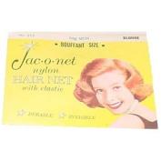 Jac-o-net Nylon Hair Net Bouffant With Elastic * 255 Blonde
