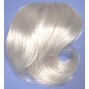 LITTLE-FILL-IN Clip On Wiglet Hairpiece Wig Grey #60 SILVER WHITE by MONA LISA