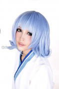 Meilifang Touhou Project Alice Remilia Scarlet Margatroid Blue Short Party Costume Cosplay Wigs