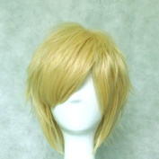 Dream2reality Cosplay_Inu x Boku Secret Service_Watanuki Banri_bottom curl_35cm_light blonde_Japanese high temperature resistant fibre wigs