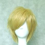 Dream2reality Cosplay_Inu x Boku Secret Service_Watanuki Banri_bottom curl_35cm_light blonde_Japanese high temperature resistant fibre wigs