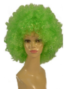 NEW fashion HOT sexy short curly Fresh Green foot ball Fans Anime cosplay wigs party Masquerade 20CM
