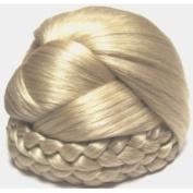 BLISS Dome Wiglet Chignon Bun Hairpiece Wig #22 LIGHT ASH BLONDE by MONA LISA