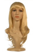 "NEW fashion HOT sexy Long Light Blonde Straight hair Full wigs Hair wigs 24"" 55CM"