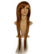 """NEW fashion HOT sexy Long Light Blonde Straight hair Full wigs Hair wigs 24"""" 60CM"""