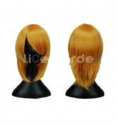 SureWells Nice wigs Pandora Hearts,LetterBee, TouhouProject Mix Gold Cosplay Costume Wig
