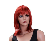 Half Red Cosplay Wig Party Wig For Women