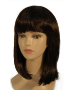 "NEW fashion HOT sexy Short mixed yellow blue Straight with slight wavy Full wigs Hair wigs 16"" 40CM"