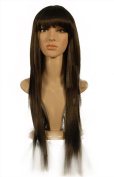 """NEW fashion HOT sexy supper Long Brown Blonde Straight Full wigs Hair wigs for girls and women 33"""" 85CM"""