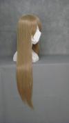 "31.5"" 80cm Straight Cosplay Costume Wig -- Brown Natalia Alfroskaya"