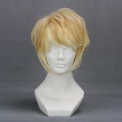 32cm Layered Mixed Blonde Cosplay Wig -- Shuu Sakama